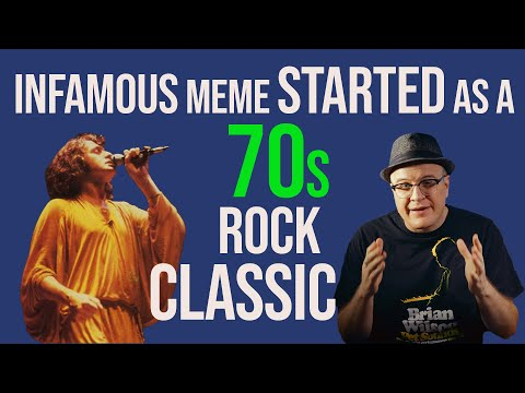 Rock Legend Tells Us Story Of 70s Classic Rock Hit That Is Now A Popular Meme | Professor of Rock