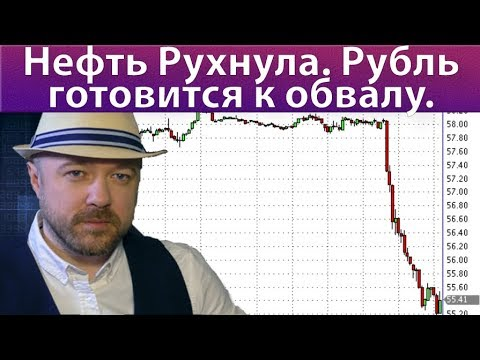 Нефть рухнула. Рубль готовится к обвалу. Прогноз курса доллара евро рубля ртс сбербанк нефть на 2020