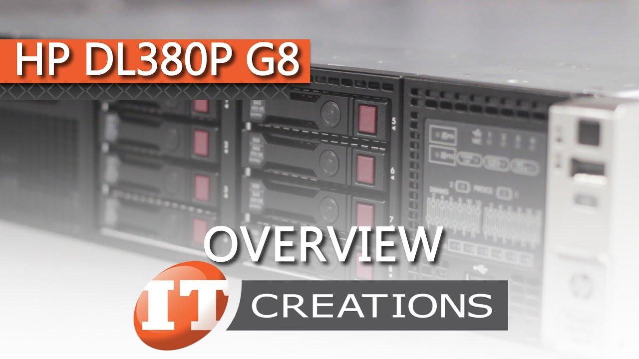 HPE ProLiant DL380p Gen8 (G8) Server | IT Creations