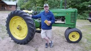 How To Drive a 1940 John Deere Model B