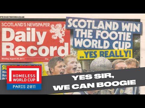 Scotland v Mexico - Homeless World Cup Final 2011 - HD Highlights (Street Soccer Scotland)