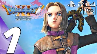 DRAGON QUEST XI - Gameplay Walkthrough Part 1 - Prologue (PS4 PRO)