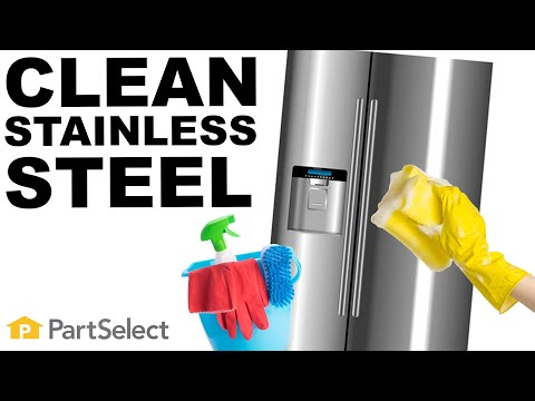 How To Clean a Stainless Steel Fridge | PartSelect.com