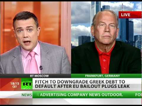 'Greek default hype part of Euro vs Dollar global currency war'