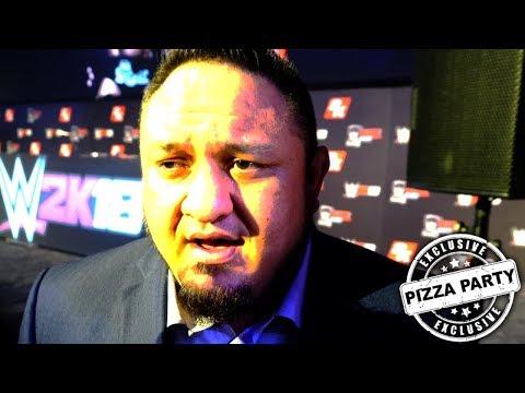 WWE Interview: Samoa Joe Wants to VS Jinder Mahal at WWE WrestleMania 34
