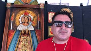 Santa Fe Spanish Market - Artist Interview - Nick Otero | Santero