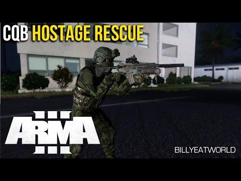 ARMA 3 - Urban Close Quarters Battle - Hostage Rescue Tanoa (CQB)