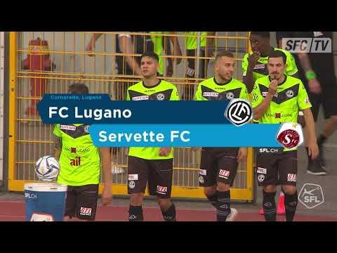 Лугано  3-1  Серветт видео