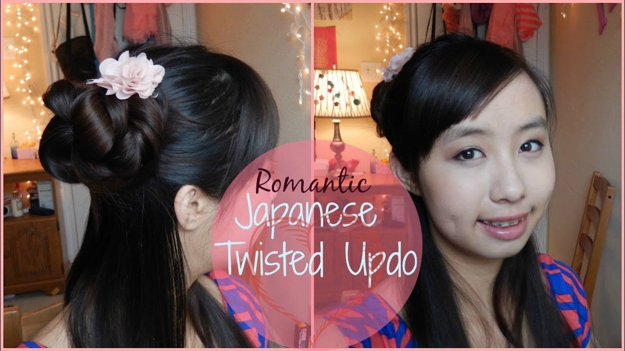 Long Hair Wikipedia Easy Yukata Hairstyles Youtube