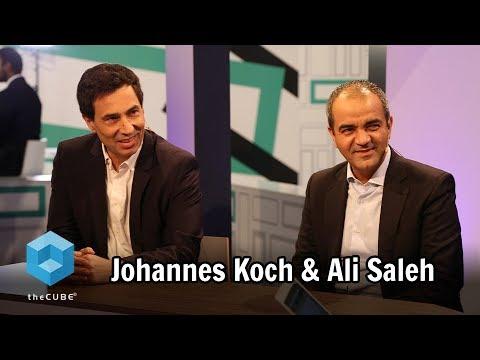 Johannes Koch, HPE & Ali Saleh, GE Digital MEA | HPE Discover Madrid 2017