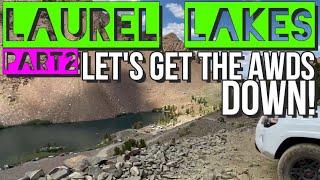 Passport to: Laurel Lakes Part 2.  Let's get the AWDs down!  (Bonus) Duck Lake & Crowley Lake