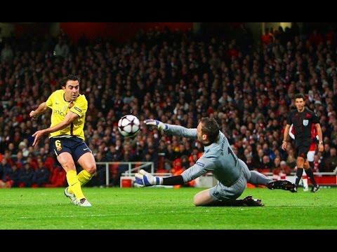 ● Manuel Almunia Fantastic save │ Arsenal - Barcelona 2-2