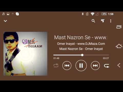 Mast Nazroon se - Omer Inayat -Lyrics MP3 Songs.pk