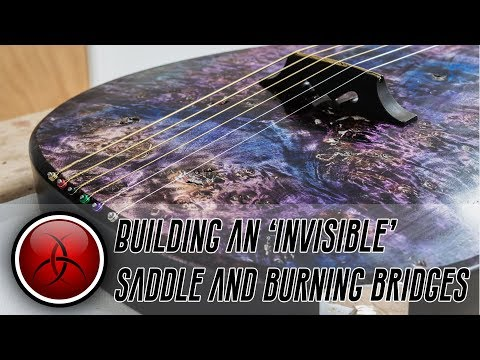 Burning Bridges and an Invisible Tailpiece - A Truly Custom Crimson Guitar