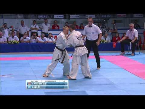 II KWU WC Final m-60kg. Arushanyan Artur (Armenia) vs. Chekh Vitaliy (Kazakhstan)
