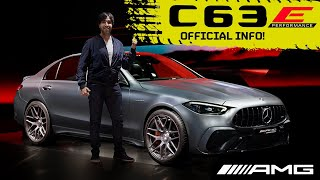OFFICIAL: AMG's 643bhp New C63! F1 Tech, EV Mode, BUT it's not a V8!