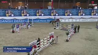 I Caipiroska clear in U18 Danish championship final and silver medal.