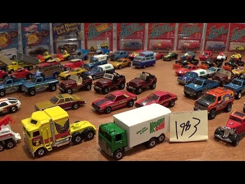 1983 Hot Wheels $$$$ Complete Collection
