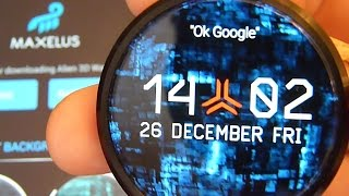 Alien 3D Watch Face 1.0 - maxelus.net Thumbnail