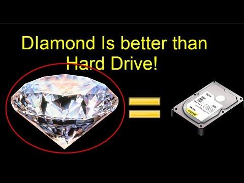 Researches Store Data in Diamonds, 3D diamond-based Data Storage