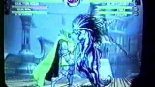 Tx Showdown 1 - MvC2 - Skye (W IronManDoomBH) vs Arturo (2W BHCableCyke)
