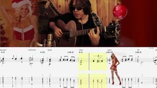 PETIT PAPA NOEL (jazz guitar solo)