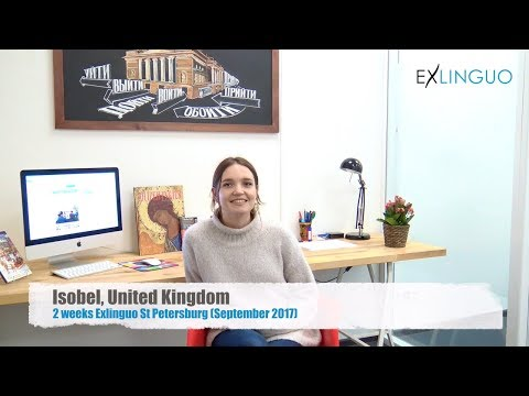 Review of Exlinguo St Petersburg Russian language school by Isobel, UK (September 2017)