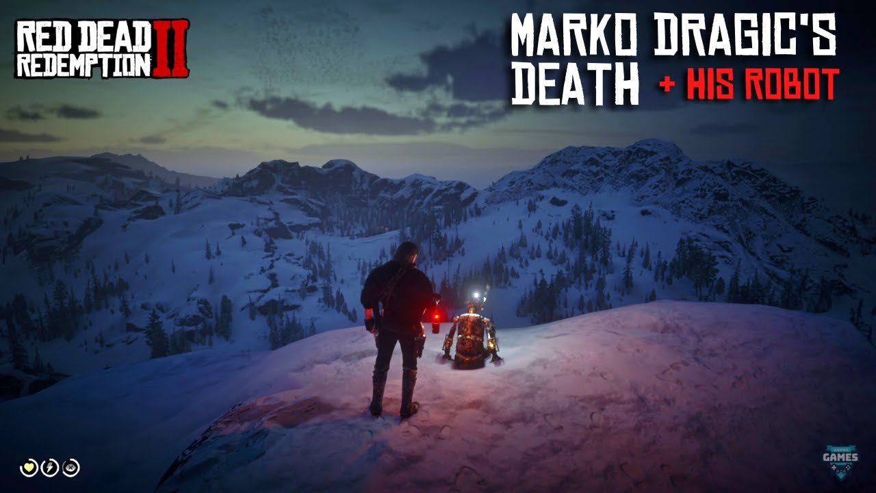 Red Dead Redemption 2- Marko Dragic's Tragic Fate & His Robot - Full Scenes