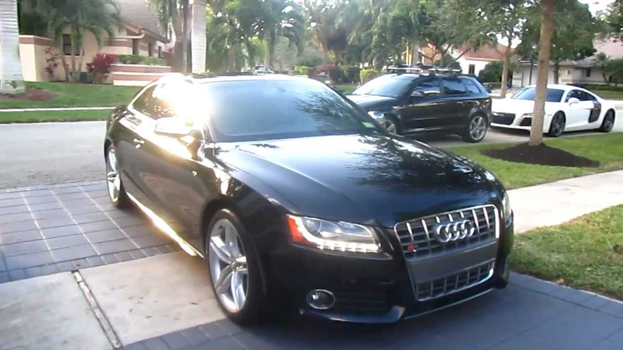 2010 audi s5 phantom black by advanced detailing of south florida [ 1280 x 720 Pixel ]