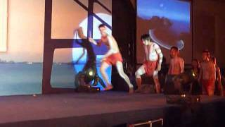 2nd floor performance at Maersk Vietnam year end party 09Dec2011 (mp4)