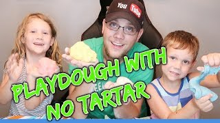 HomeMade Playdough WITHOUT Cream of Tartar