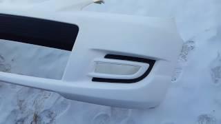 видео бампер передний мазда 3