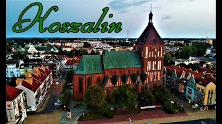 Koszalin -zielone miasto ,przynajmniej z tej perspektywy :)
