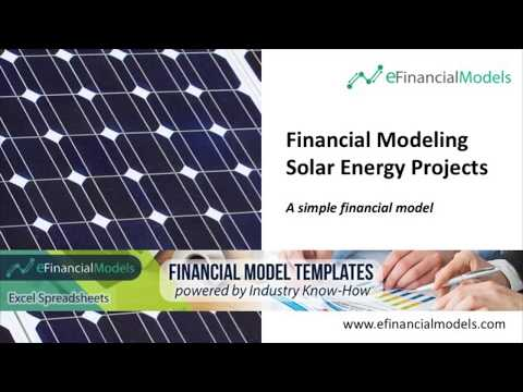 Financial Modeling - Solar Energy Project / Solar Park