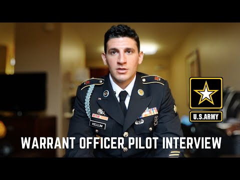 US Army Warrant Officer Pilot Interview Board Process | Q&A
