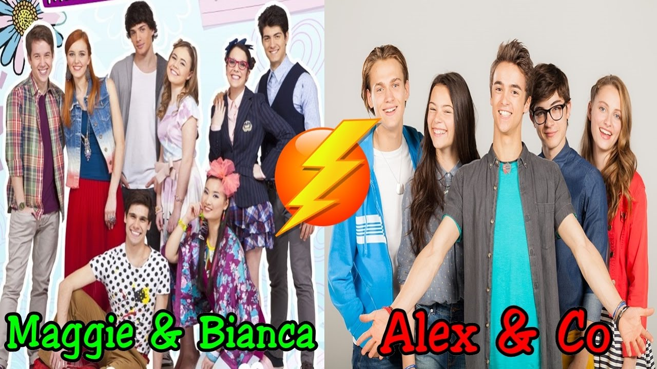 Maggie e bianca vs alex e co chi vince youtube for Karaoke alex e co