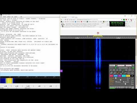 Full WLO Marine anti-piracy SITREP report at 8473 kHz