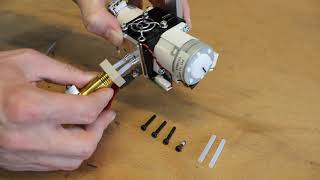 Replace tubes on Dual-Feed extruder of the Builder Extreme - Builder 3D Printers