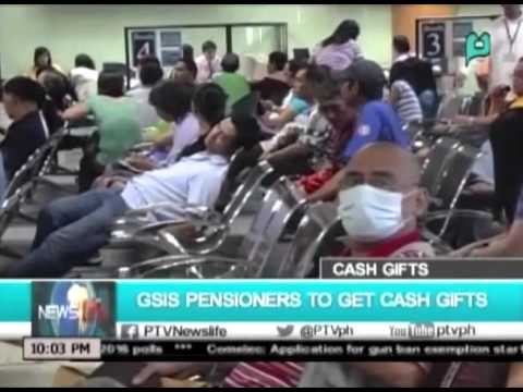NewsLife: GSIS pensioners to get cash gifts || Dec. 9, 2015