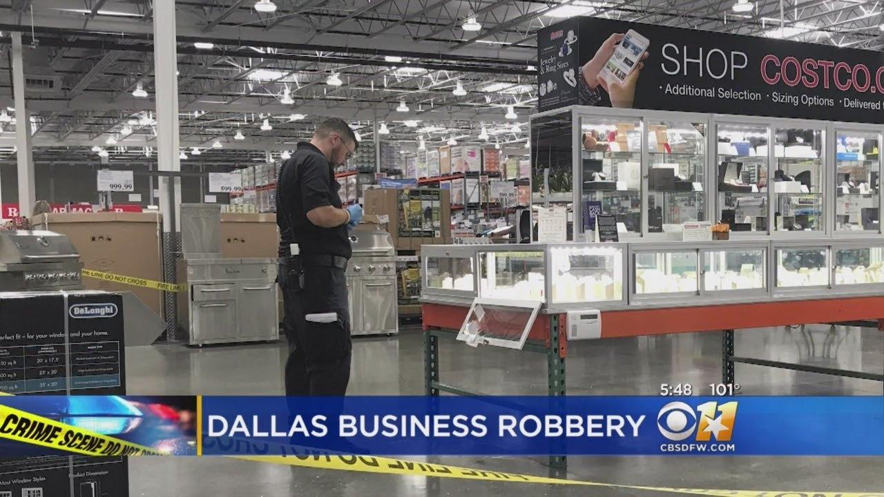 Dallas Costco Robbed