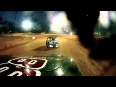 I-30 Speedway Mod-lite Heat race #1 7-9-11 GoPro from #88 Jeromy Wilson