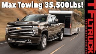 Breaking News! 2020 Chevy Silverado HD Debut Goes for Best In Class Towing - Here Are The Specs