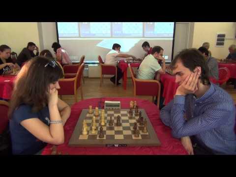 WFM Bykova Anastasia ( 2283) - GM B. Savchenko (2680), Kislovodsk 2015