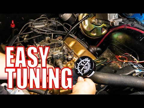 How To Quadrajet Carburetor Rebuild - Part 3 - Tuning