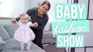 Baby Fashion Show! - Picking Out Her First Easter Dress