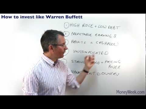 How to invest like Warren Buffett - MoneyWeek Investment Tutorials