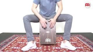 MEINL Percussion - MEINL Percussion - Artisan Edition Cajon - Cantina Line - Walnut - AECLWN