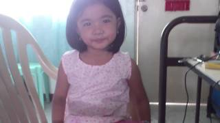"4 year old singing ""Kailangan Ko'y Ikaw"" inspired by Anne Curtis"
