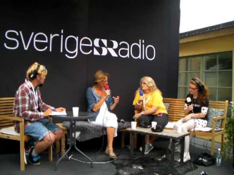 Sveriges Radio Gudrun Schyman pratar media