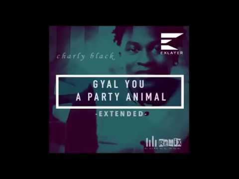 Mix Gyal You A Party Animal - Charly Black - DJ Jose Medina Ft DJ Micher (2016)